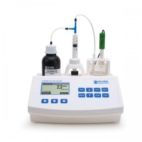 Valorador automático de Sulfuroso Libre y Total (ppm SO2)