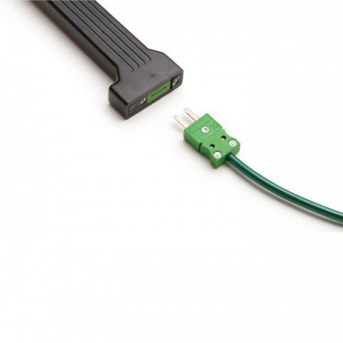 Mango de PVC para sondas Termopar Tipo K, 1m cable