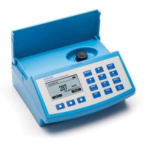 Fotómetro multiparamétrico sobremesa y pHmetro (230V)