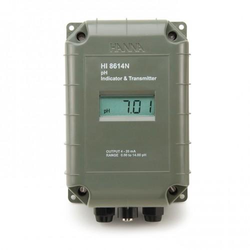 Transmisor pH con salida aislada 4-20 mA