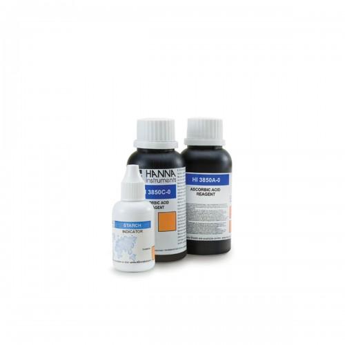 Recambio 100 test para Ácido Ascórbico