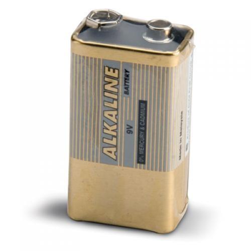 Batería de repuesto 9 V para medidores portátiles no impermeables, 10 ud