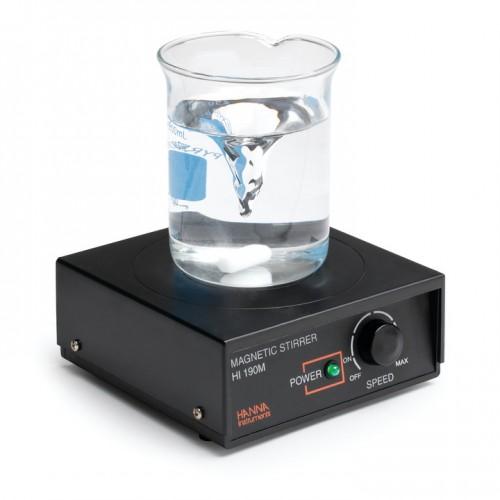 Miniagitador magnético con regulador de velocidad y cubierta de plástico ABS, 1L