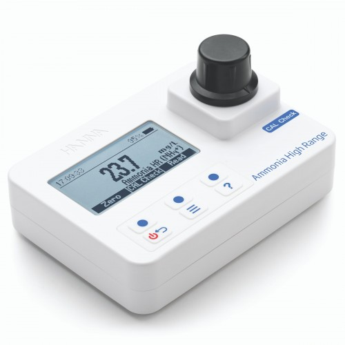 Fotómetro portátil Amonio rango alto 0,0 a 50,0 mg/L NH4