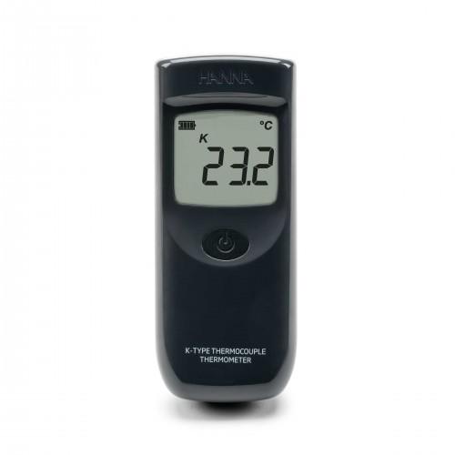 Termómetro termopar tipo K para uso industrial IP65