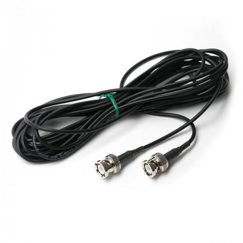 Cable para electrodos, diam. 3mm, conector BNC/BNC