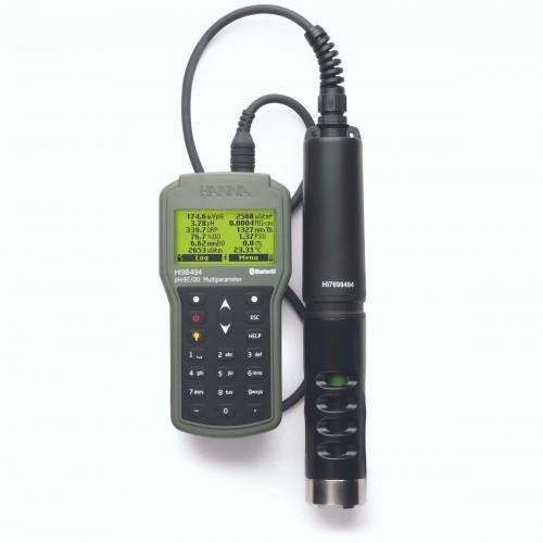 Multiparamétrico portátil pH/CE/OPDO con bluetooth, 4 m de cable