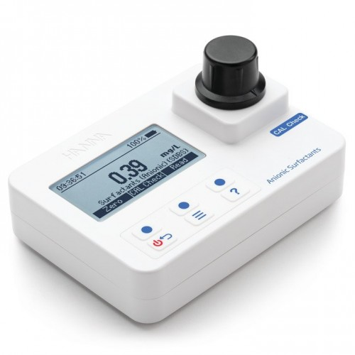 Fotómetro portátil Detergentes Aniónicos 0,00 a 3,50 mg/L