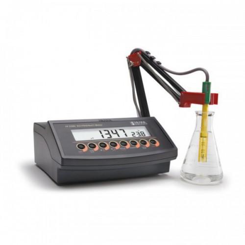 Conductímetro sobremesa (CE/ TDS/ NaCl/ Temp) (0 a 500mS/ cm) salida USB