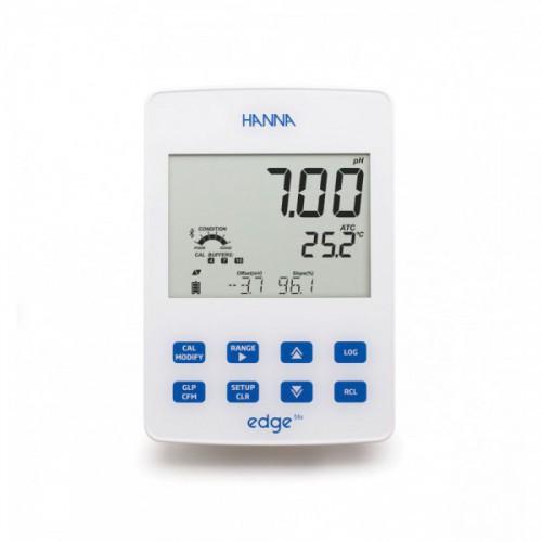 EDGE Blu pHmetro con conexión Bluetooth con electrodos HALO