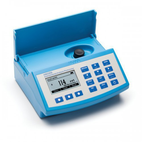 Fotómetro multiparamétrico sobremesa y pHmetro para controles medioambientales (230V)