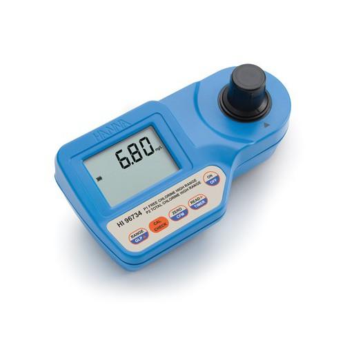 Fotómetro portátil Cloro Libre y Total rango alto (0,00 a 10,00 mg/L)